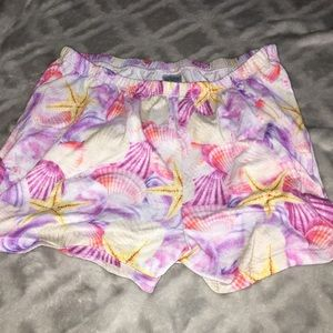 PJ shorts with shells